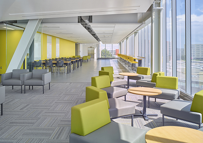 """Humber College Building """"F""""   Eastern Construction"""
