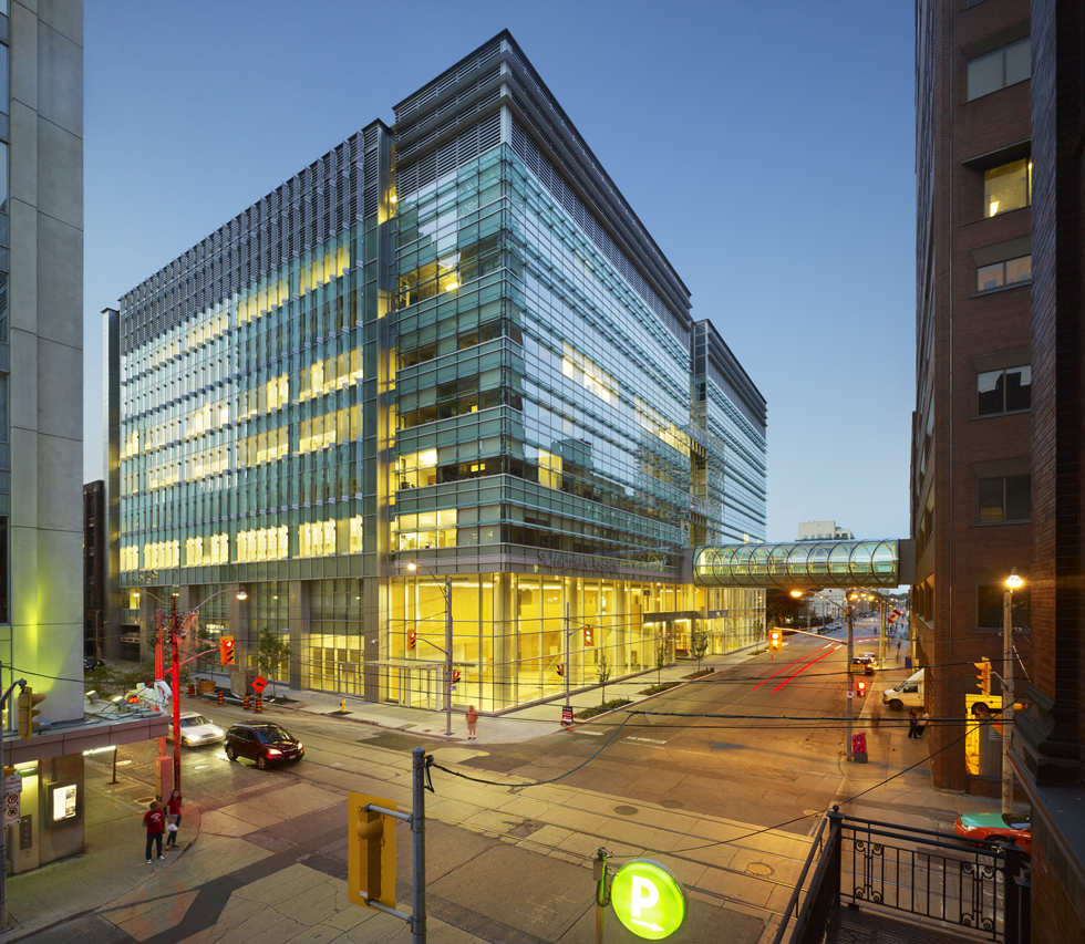 Steel Buildings Ontario >> St. Michael's Hospital - Li Ka Shing Knowledge Institute ...