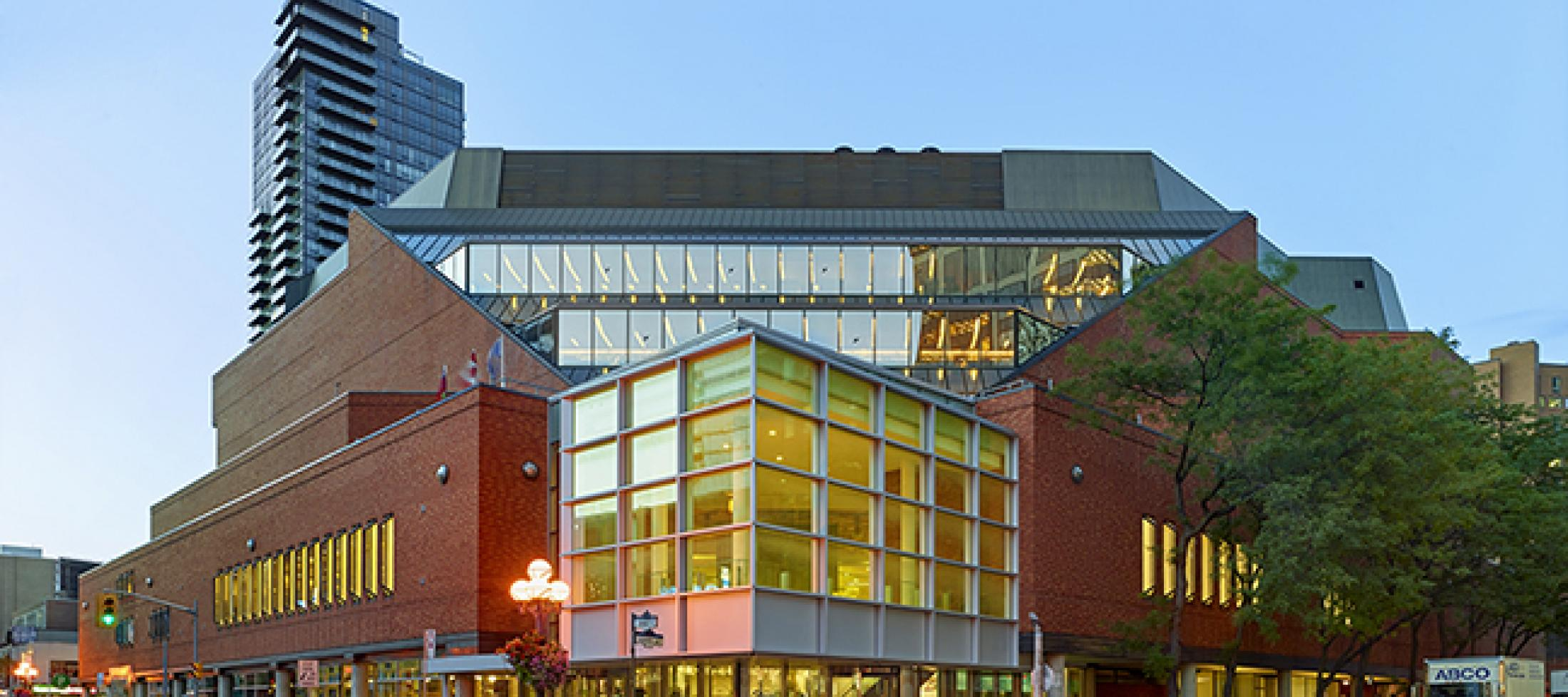 Exterior view of the Toronto Reference Library