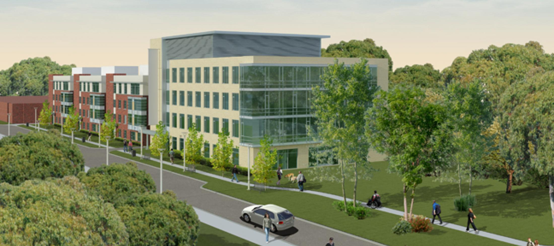 Centre for Addiction and Mental Health Rendering