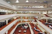 Interior view of the Toronto Reference Library